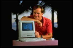 A file photo of John Sculley, chief executive officer of App